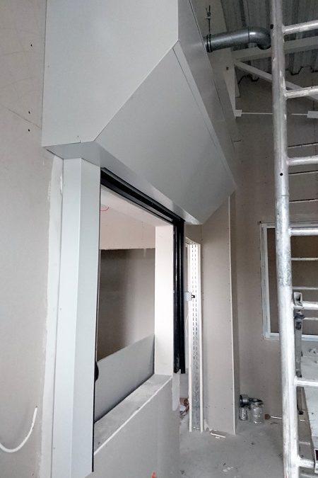 Przeciwpożarowe bramy okienne