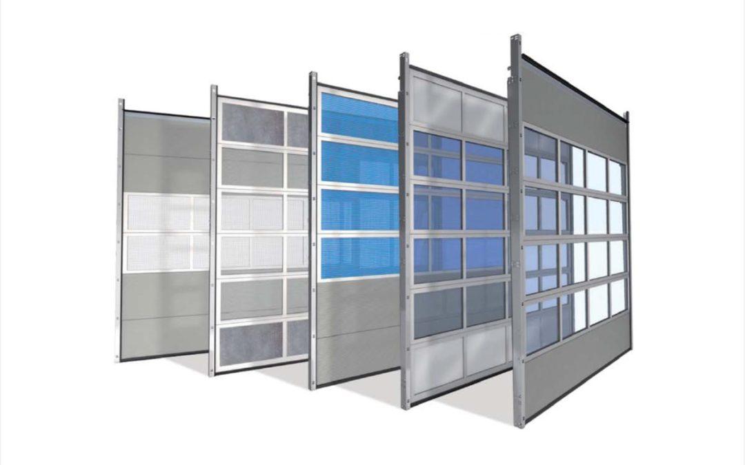 ALU 40 – Aluminiowa brama przemysłowa