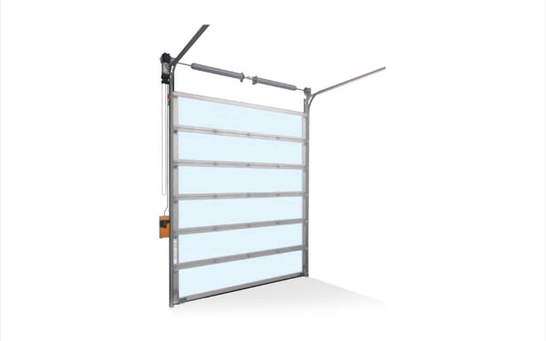 Panorama 40 – Brama aluminiowa bez podziałów pionowych