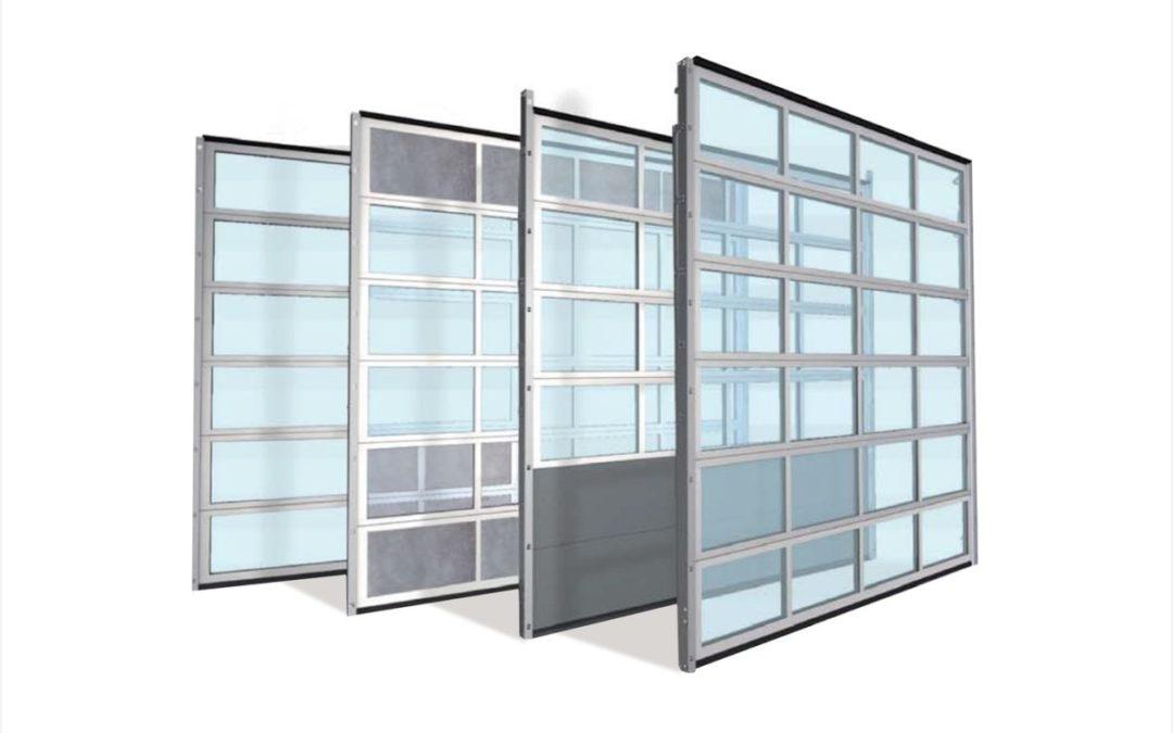 ALU 60 – Aluminiowa brama przemysłowa